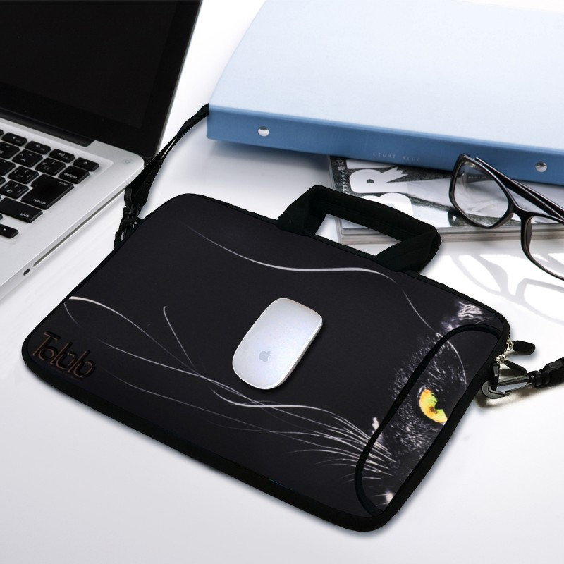 10 Inch Black Cat Shoulder Bags Tolulu